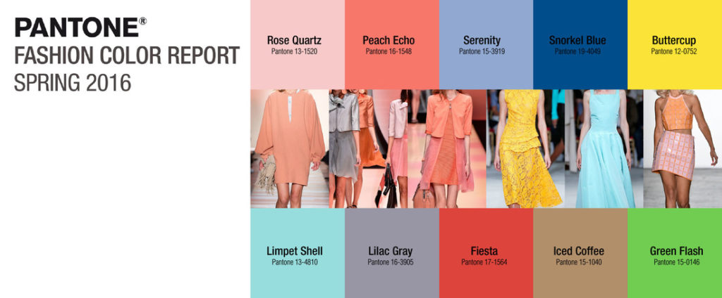 Pantone Spring 2016 Color Report