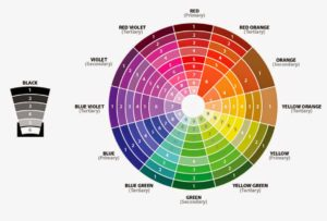 Expanded Color Wheel 8-17