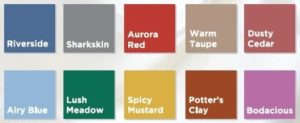 Pantone 2016 Fall-Winter Top 10 Colors