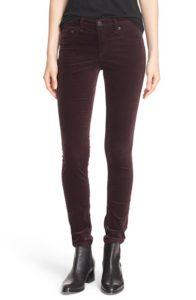 Rag & Bone Jean Velvet Skinny Pants
