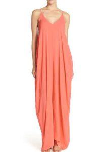 Nordstrom Elan V-Back Cover-Up Maxi Dress $58