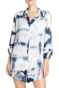 Nordstrom Green Dragon Big Sur Cover-Up Shirt $78
