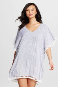 Target Merona Kaftan Cover Up Dress with Tassels $25