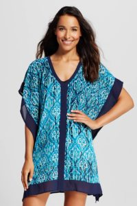 Target Merona Butterfly Kaftan Swim Cover Up $25