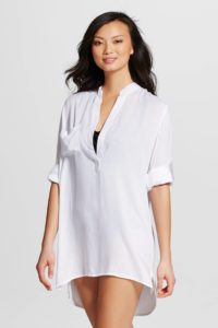 Target Mango Reef Shirt Dress Cover Up $30