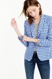 J. Crew Campbell Gingham Jacket (currently sold out)