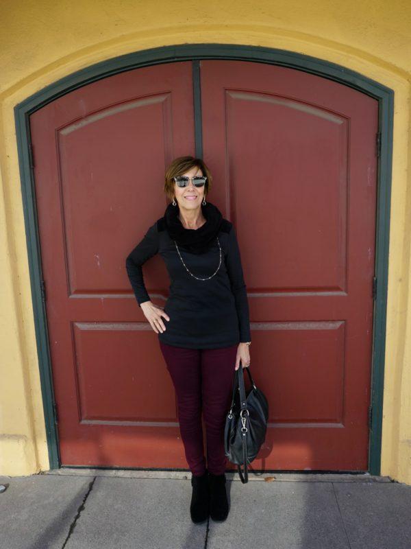 Blondo Boots at Doorway